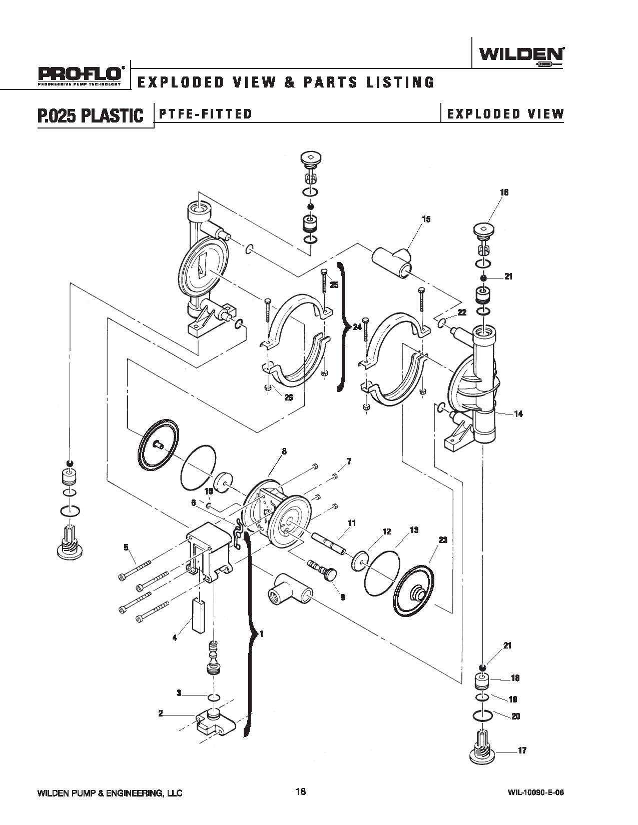 versamatic diaphragm pump parts diagram